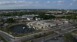 View the constantly in progress time lapse video of Unity Plaza