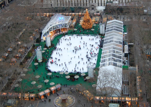 A national company will turn the plaza into an ice rink in December annually...better dust off those old roller blades and start practicing this summer!