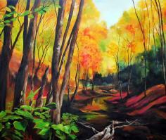Autumn Morning 48x40