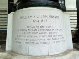 Monument dedication detail
