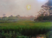 Davidwendel-Lowcountry Haze- 30x40-oil- $4900