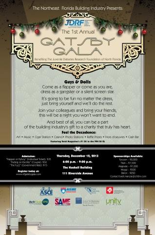 gatsby gala poster