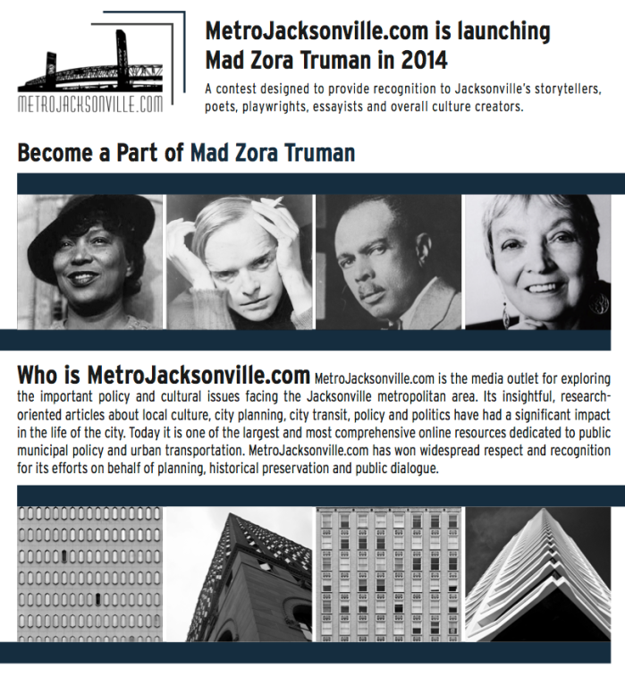 Metro Jacksonville Mad Zora Truman Festival