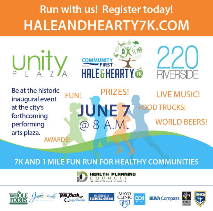 Please register by visiting HaleandHearty7K.com TODAY!