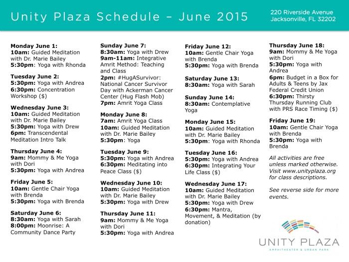 Unity Plaza - June 1