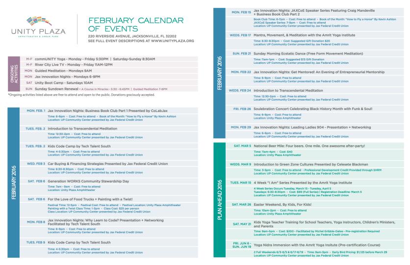 February Calendar Spread